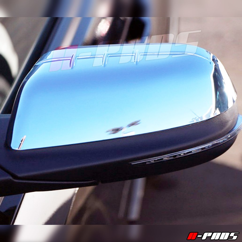 A-PADS Chrome Mirror Covers For Ford EDGE 2011-2014 Chromed Mirrors PAIR Lincoln MKX 2012-14
