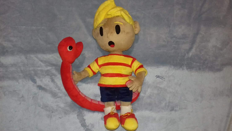 commissioned plush plush mario plush fun art custom plush 30 cm minky Toy inspired by lucas super smash bros ultimate mascot