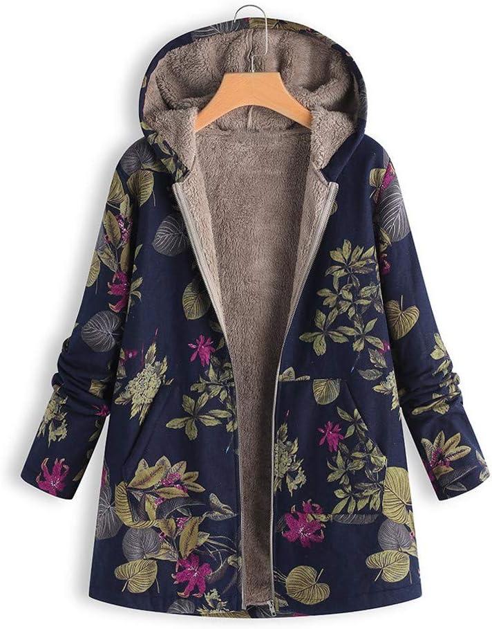 ARMFRE 상성 빈티지 플로랄드 코트 두꺼운 견면 벨벳 퍼지 늘어 파카 코트 ZIP 긴 소매 완두 외투 재킷은 느슨한 겨울 따뜻한 아노락으로 주머