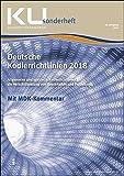 Deutsche Kodierrichtlinien mit MDK-Kommentierung 2018: KU Sonderheft