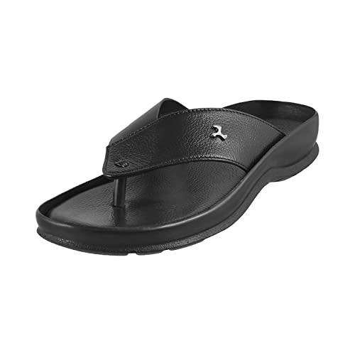 5a6f60e68d284b Mochi Men Leather Sandals (16-8773)  Buy Online at Low Prices in ...