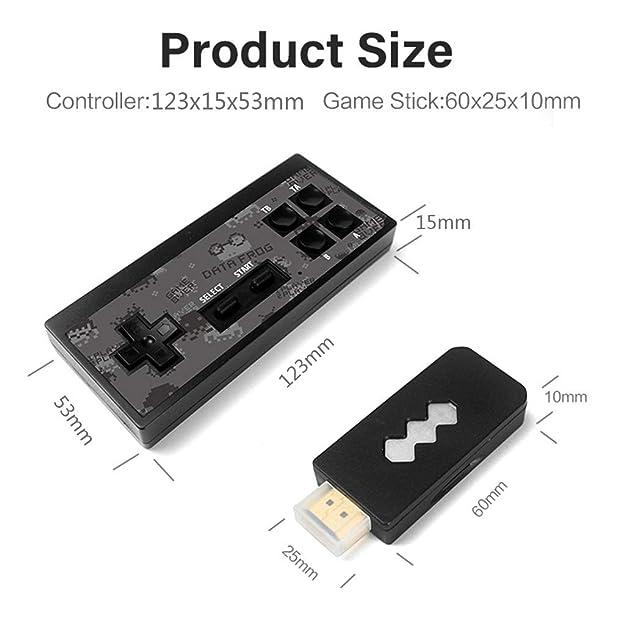 Amazon.com: Dinfoger Y2 4K HDMI Consola de videojuegos 568 ...