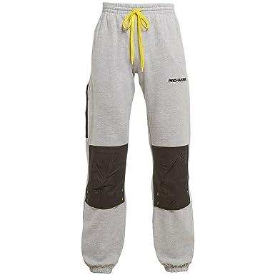 d87984b189 Pro-Work Size: 6XL Colour: Ash Marl Light Grey: Amazon.co.uk: Clothing