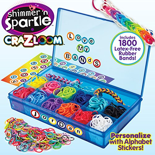 Amazoncom Cra Z Art Cra Z Loom Ultimate Collector Case With 1800