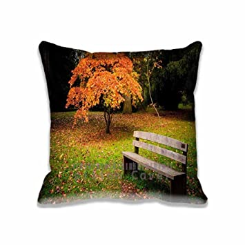 Amazon Popular Home Decoration Lonely Bench Pillow Cases Style Magnificent How To Decorate A Bench With Pillows