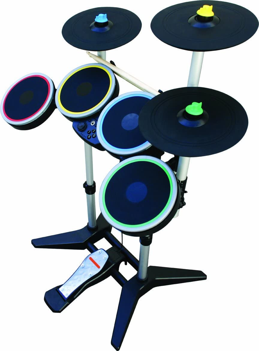 Amazon com: Rock Band 3 Wireless Pro-Drum and Pro-Cymbals Kit for