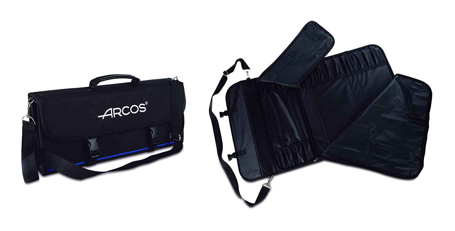 ARCOS 17-Piece Knife Roll Bag