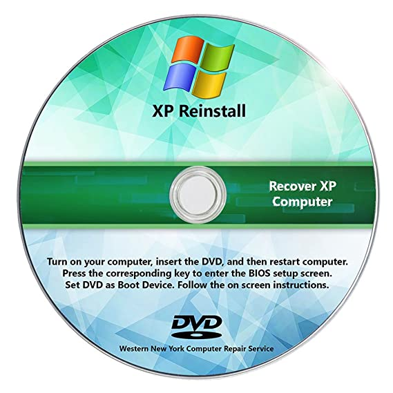 Amazon Windows Xp Reinstall Recovery Repair Reset Sp3 Cd