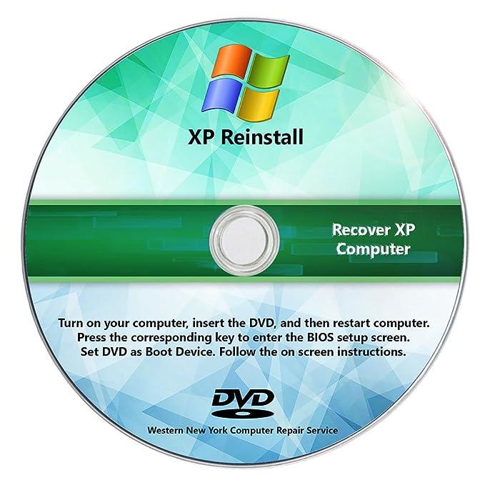 Amazon Windows Xp Reinstall Recovery Repair Reset Sp3 Cd