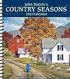 John Sloane's Country Seasons 2013 Weekly Planner Calendar, John Sloane, 1449417183