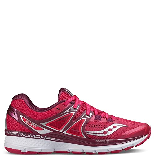 d8ab0a19f Saucony Women's Triumph Iso 3 Running Shoe: Amazon.co.uk: Shoes & Bags
