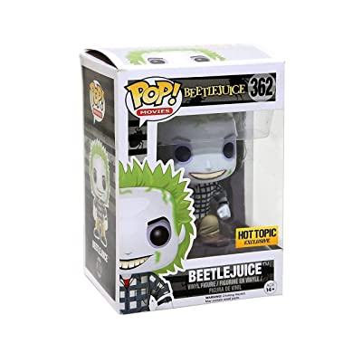 Funko POP! Beetlejuice Plaid Suit #362: Toys & Games