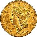 1850 O $20 Liberty Gold Twenty Dollar XF45 NGC\CAC