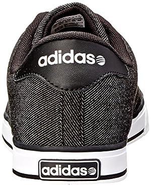 quality design 230c6 351db adidas NEO Men s SE Daily Vulc Lifestyle Skateboarding Shoe,Black Black  White,10 M US