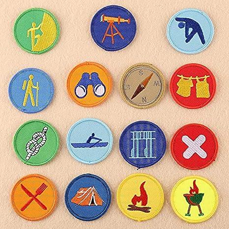 20 parches de tela para planchar o coser a la mayoría, para ropa, sombrero, bordado, parche de tela para coser o coser (WFB-45): Amazon.es: Juguetes y juegos