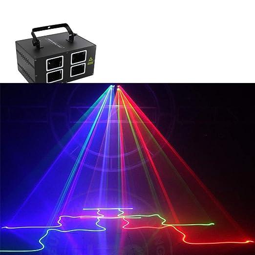 EGCLJ DJ Party Sbolight Disco De La Luz RGB 4 Lente 72 Patrones ...