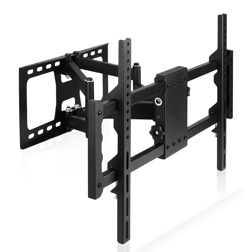 UNHO TV Wall Mount Bracket, Full Motion Double Articulating Arm for Most 30-85 inch Monitor & TV VESA 100x100-700x400 (mm)