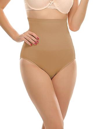 c9261e871dcd Clovia Women's Other Control Panty (SW0009P24-S/M_Beige_Small / Medium)