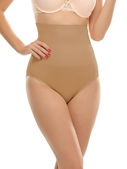 d1693cb2e2b7e Clovia Women s Tummy Tucker With Silicon Grips  Amazon.in  Clothing ...