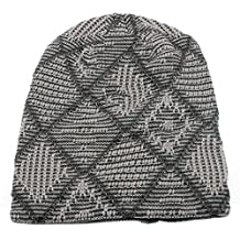 Anmengte Men's Soft Thick Knit Skull Caps Fall/Winter Slouchy Beanies Warm Hat