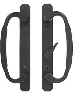 """CRL Dark Bronze 8/"""" Aluminum Door Mounted Standard Pull Handle CM8DU"""