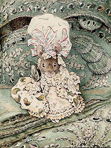 - Doppelganger33 Ltd Helen Beatrix Potter Lady Mouse In Mob Cap Art Picture Canvas Art Print