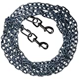 Beast-Master Straight Link Tie-Out Chain with Bolt Snaps Medium Dogs 50 LBS (40)
