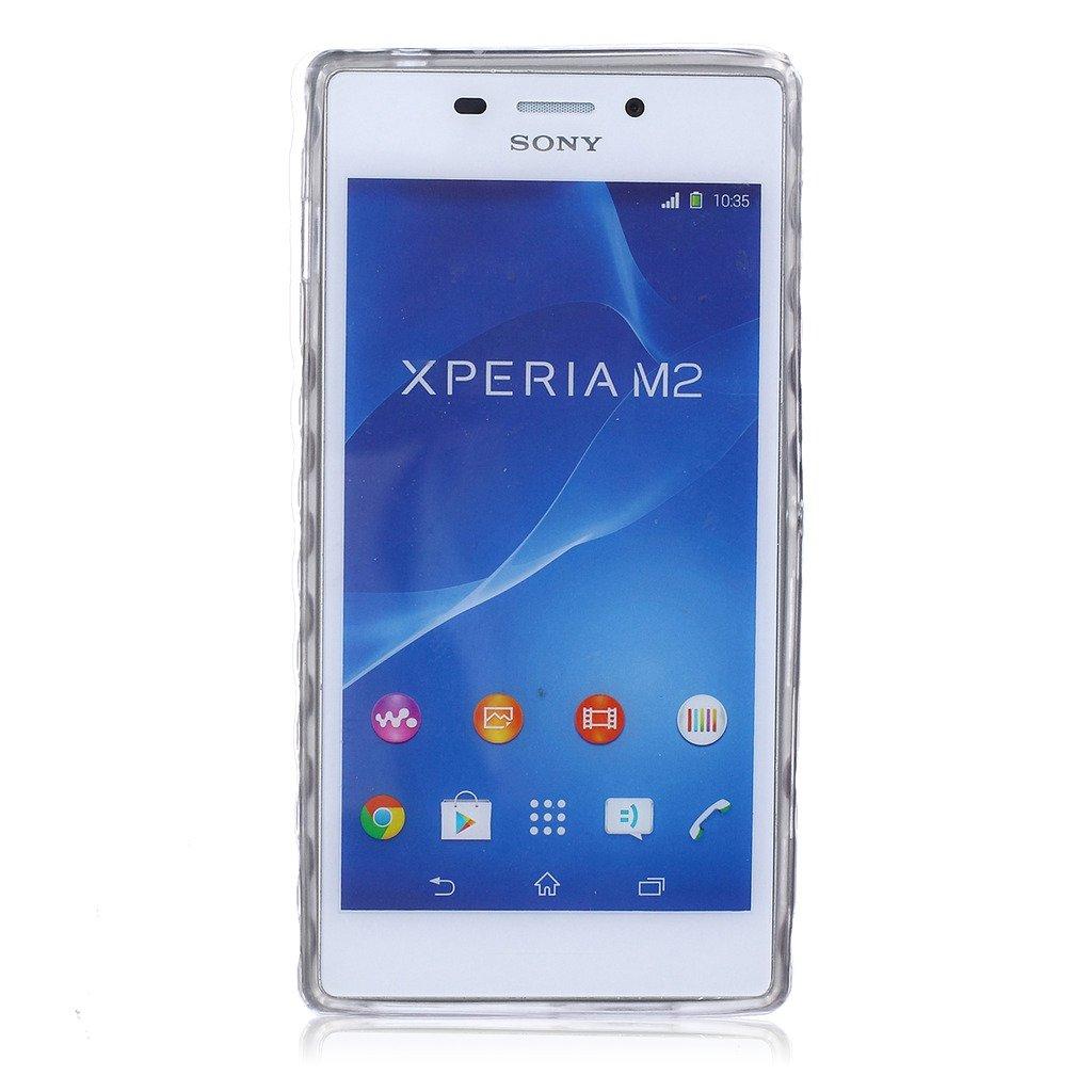 Amazon.com: For Sony Xperia M2 Case,Sony Xperia M2 TPU Case ...