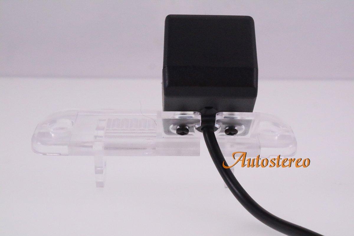 Autostereo - Cámara de visión trasera de aparcamiento para Mercedes Benz Clase C W203 / Clase E W211: Amazon.es: Electrónica