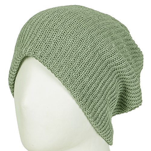 Summer Snood Netted Neck ililily purpose Green Skull Multi Beanie Reversible Olive tS1qxfA