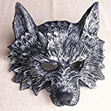 Damjic Halloween Party Show Animal Mask Bar Terrorist Mask Wolf Stage Decoration