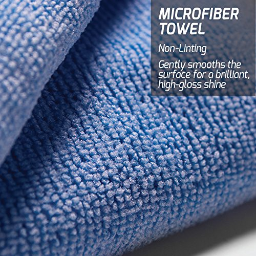 Buy microfiber towels for waxing cars