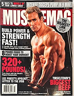 5805836f6bf ROBERT KENNEDY S MUSCLEMAG INTERNATIONAL Magazine March 2008 (Number One  Authority On Bodybuilding