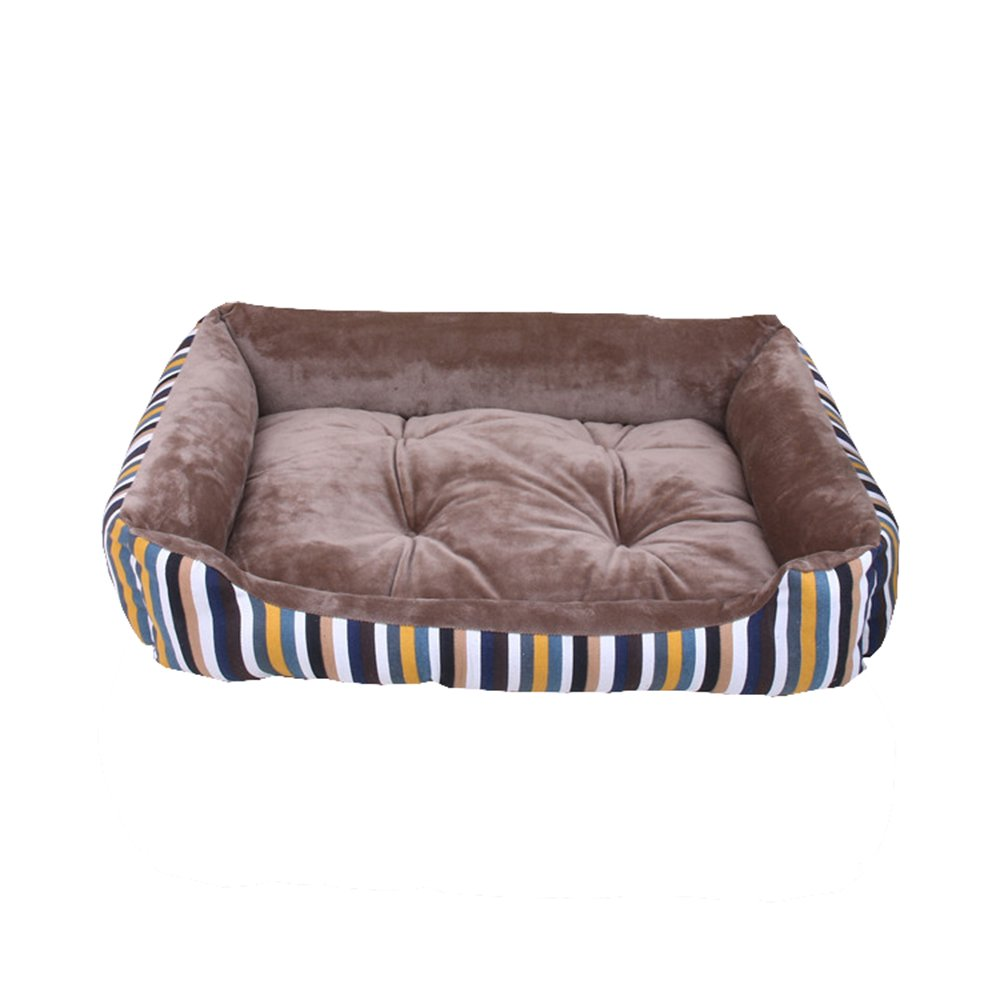 2 907015cm 2 907015cm AGOUWO Dog Bed Cat Bed Pet Bed Sofa Comfortable Short Plush Cushion Dogs Cats Pets Nest,002,90  70  15cm