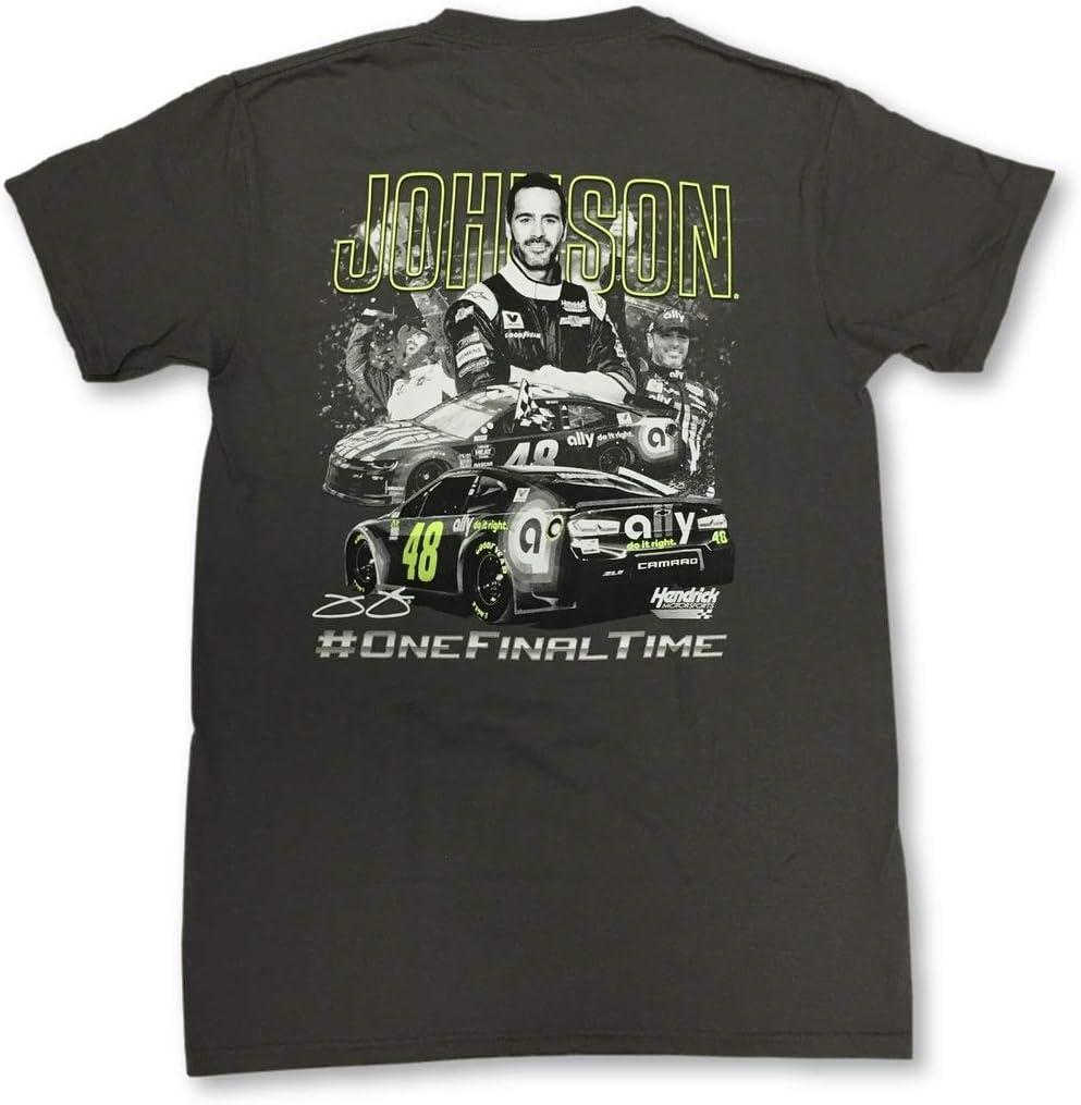 Jimmie Johnson #OneFinalTime Retirement Crew Neck Adult T-Shirt