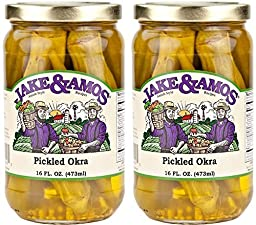Jake & Amos Pickled Okra / 2 Pack