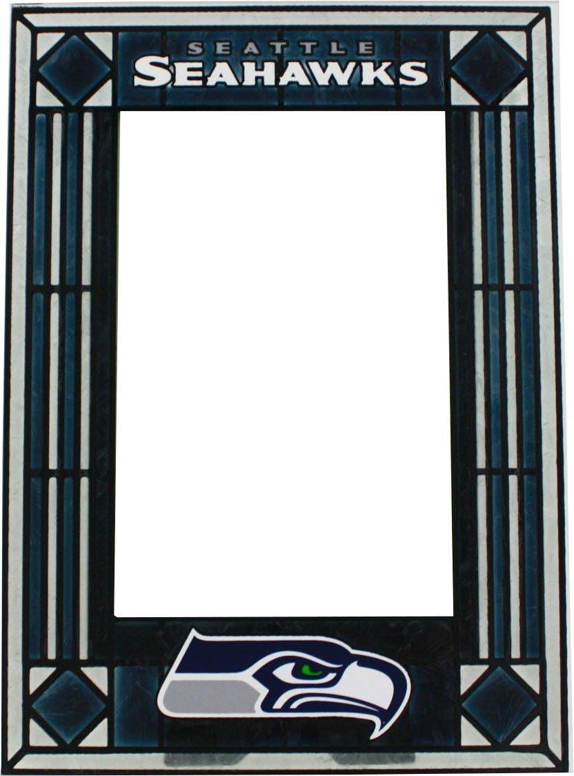 Amazon seattle seahawks art glass frame sports fan picture amazon seattle seahawks art glass frame sports fan picture frames sports outdoors jeuxipadfo Choice Image