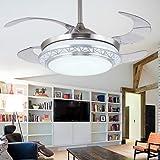 Rs Lighting European Crystal Ceiling Fan Light Kit 42