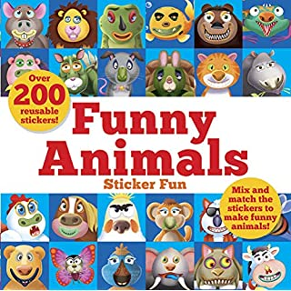 Funny Animals Sticker Fun: Mix and match the stickers to make funny animals (Dover Children's Activity Books)