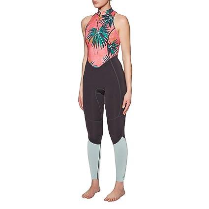 d760f8034b77e8 Amazon.com  Billabong Womens 1mm Salty Jane Sleeveless Wetsuit Coral ...