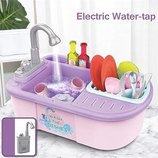 LYATW Fregadero de cocina Juguetes, Juego de imaginación lavar los ...