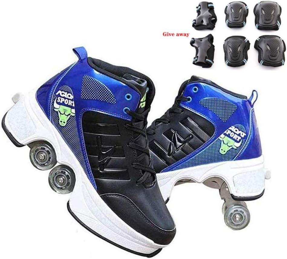 BGHKFF Roller Shoes Adult Adjustable