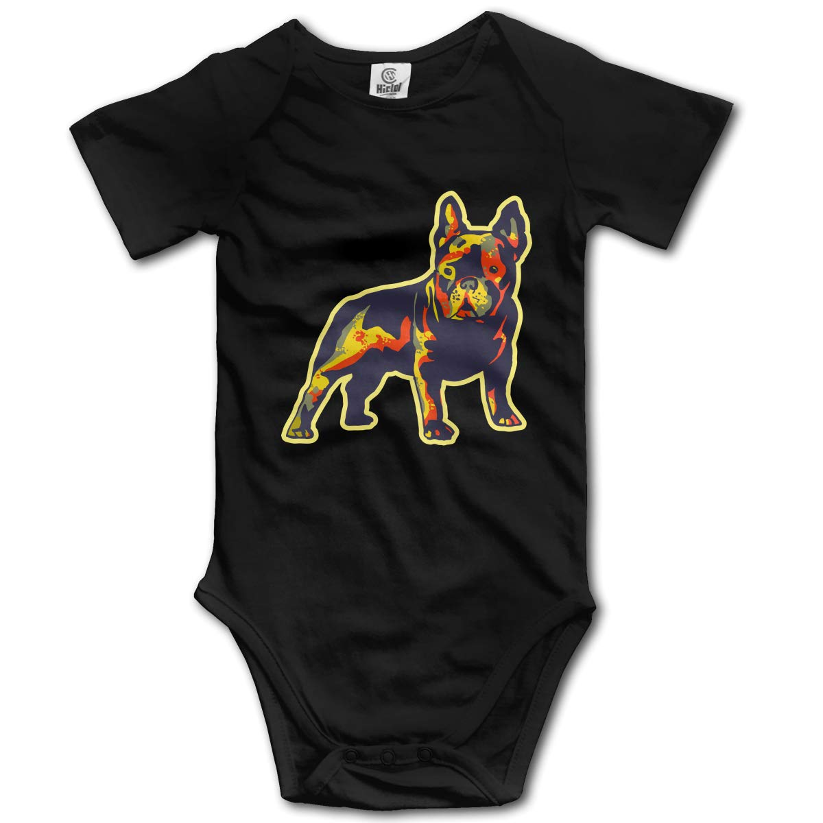 CDHL99 French Bulldog Newborn Girls /& Boys Short Sleeve Outfits Sunsuit Clothes 0-24 Months
