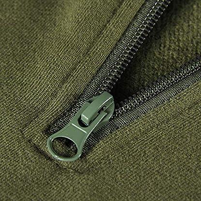 Smile Fish Women Teddy Fleece Quarter-Zip Sweatshirts Long Sleeve Lightweight Pullover Top 5