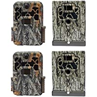 Browning Trail Cameras Spec Ops FHD Extreme Game Camera, 2 Pack + Security Boxes