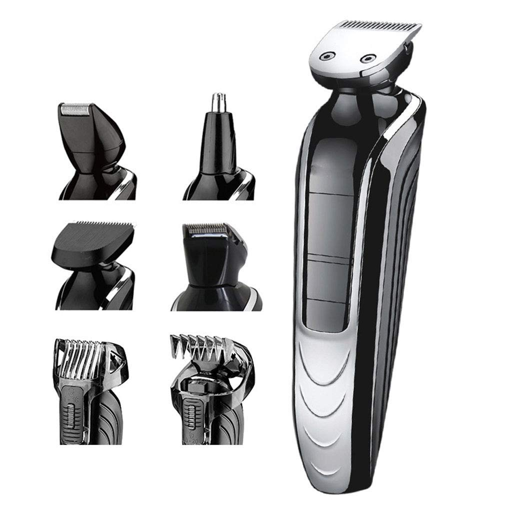 Electric Trimmer, Men's Razor, Professional Beauty Set, Rechargeable Waterproof And Beard Trimmer, Men's Hair Clipper Men's Razor Men's Hair Clipper wenmw