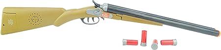 ¡Prepárese para tomar el salvaje oeste con este arma doble del tiro de Barrell occidental!,Con efect