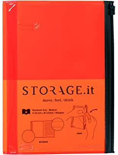 Amazon.com : MARKSTYLE TOKYO STORAGE.it Notebook L Black ...