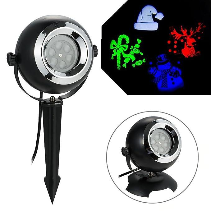 1 opinioni per BLOOMWIN LED Natale Proiettore Lampada, Paesaggio Proiettore RGBW Rotante
