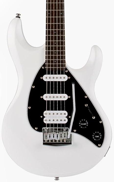 Sterling por Music Man SUB SUB SILO3WH · Guitarra eléctrica
